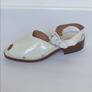 Vintage ROBERT CLERGERIE White Patent Shoe